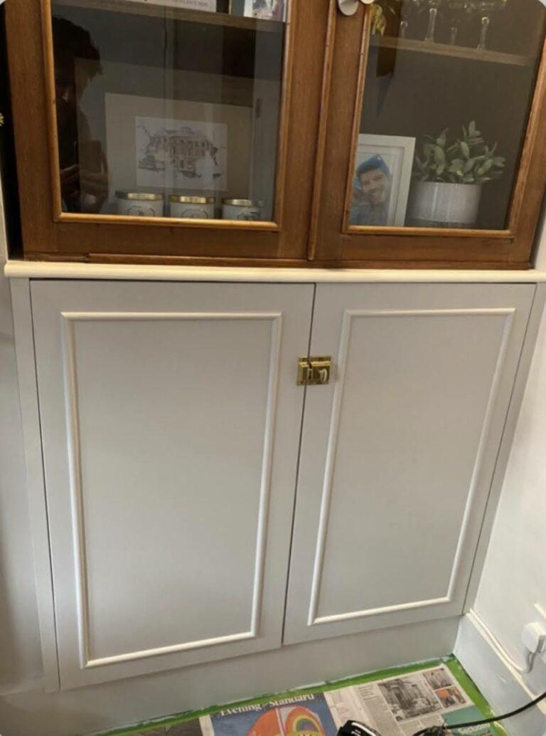Bespoke doors with beading